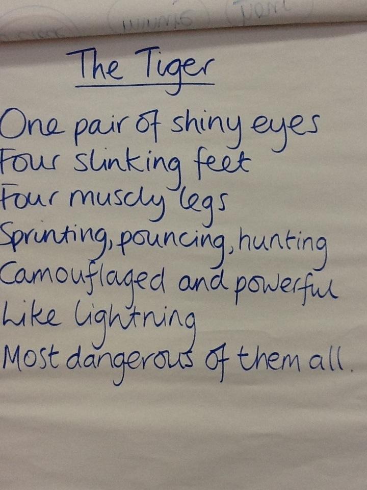 Tiger poem