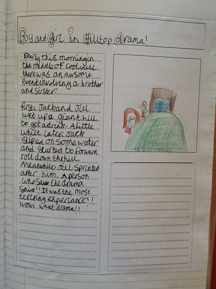 Newspaper Reports | Class 3Bm'S Blog